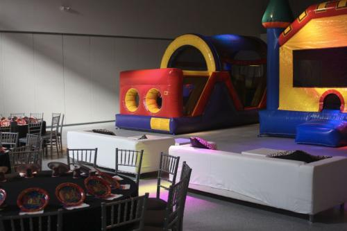 Inflatable Madness Party Set Up